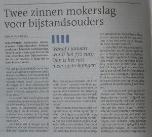 Delen delen delen: Twee zinnen mokerslag voor bijstandsouders. After this, they will try to take your children. Wake UP!