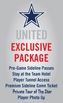 Cowboys United Packages
