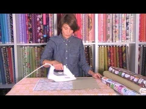 Tutorial para plastificar telas y hacer un mantel individual