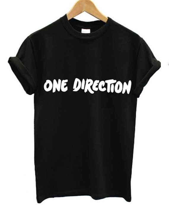 ONE DIRECTION t shirt 5 seconds of summer music 5 sos harry styles zayn malik on Etsy, $22.41
