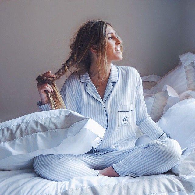 @claudiaparrast representing boyish pajama for great mornings!