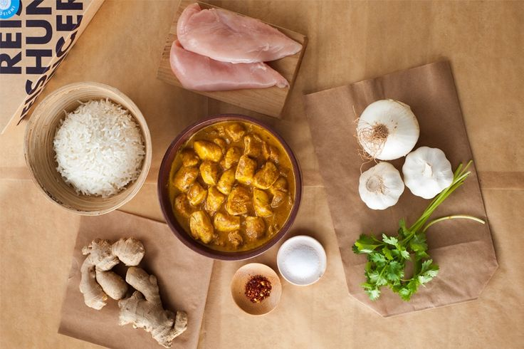 REISHUNGER Indisch Curry Box - alle Grundzutaten für das beliebte indische Curry in einer Box #reishunger #box #gift