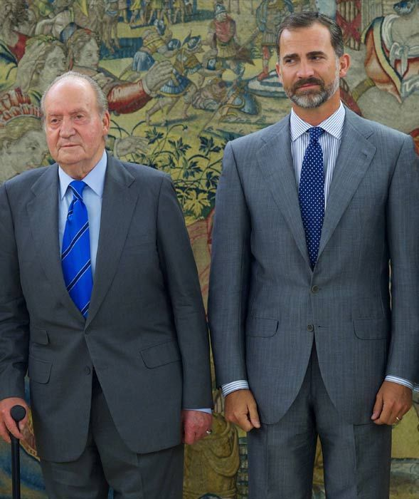 Spanish King abdication: Juan Carlos says his son Felipe 'represents stability and a new generation'