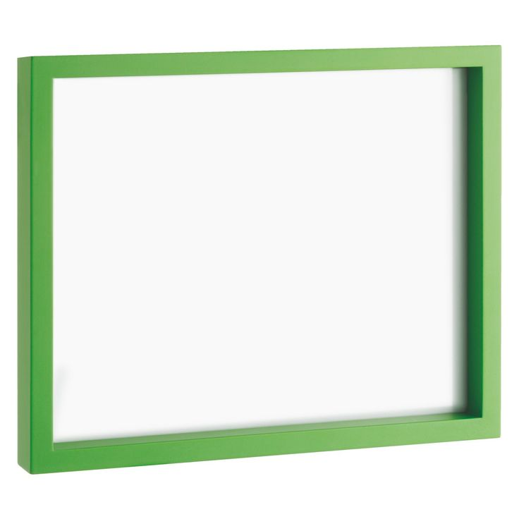 PIC 20 x 25cm green photo frame | Buy now at Habitat UK