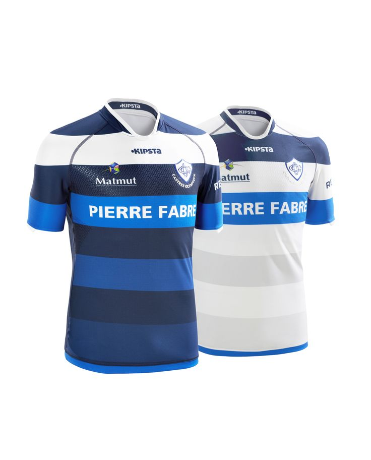 Castres Olympique 2015/16 Kipsta kit Home & Away / Sylvain Tilly