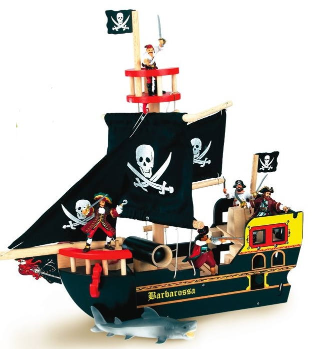 Pirate Toys For Boys : Best le toy van wooden toys images on pinterest wood