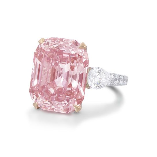 The Graff Pink Hidden in a private collection for years, this pink 23.88 carat diamond caught the eye of Laurence Graff when it came onto t...