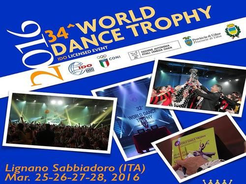 34 World Dance Trophy