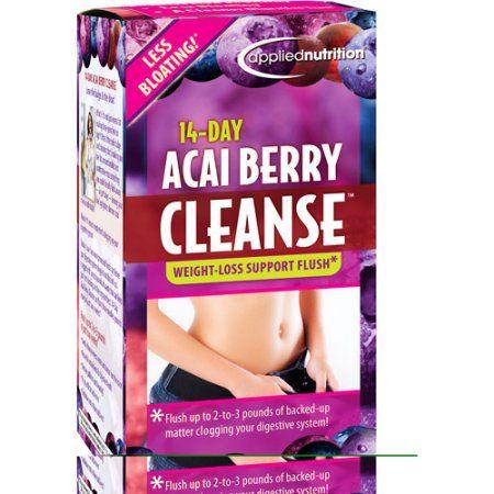 Acai Berry Cleanse Supplement, 56ct - Walmart.com $9.96