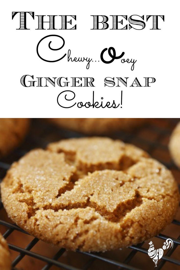 The best chewy, ooey ginger snap cookies in the world! Recipe originally from England. You will never find another one like it.