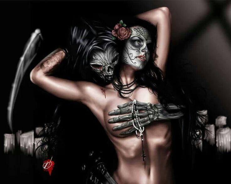 Reaper and chola girl