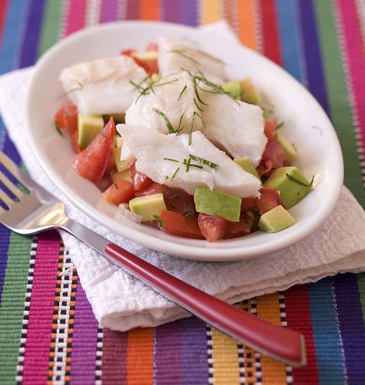 Fraîcheur et exotisme au menu ce midi : proposez à vos invités une escapade gourmande avec ce ceviche de poisson typique d'Amérique latine.