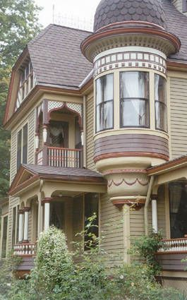 266 best painted ladies images on pinterest for Victorian exterior color schemes