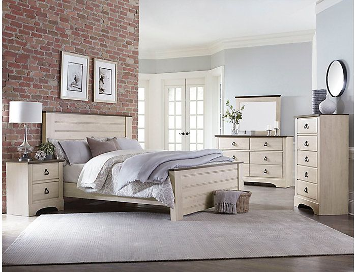 Rivervale White 3 Piece Queen Bedroom Set | First House in ...