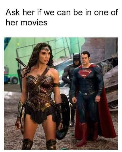 Hell Yeah Superman-n-Wonder Woman : Photo