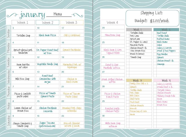 Mormon Mom Planner - New Spread for 2016 planners intheleafytreetops.com