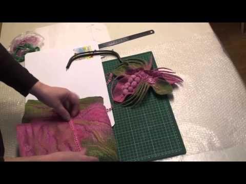 сборка валяной сумки | PROFelting