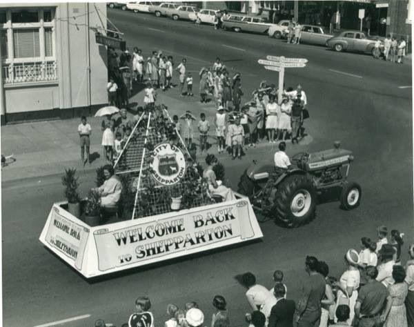 Welcome Back to Shepparton parade