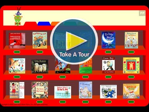 One More Story.com   An online library helping pre-readers and early readers learn to read.