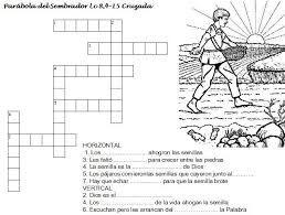 Image result for la parabola del sembrador actividades para niños