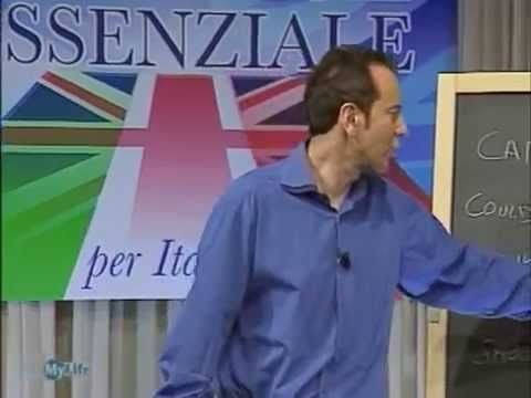 John Peter Sloan - Lezione 10 - Essential English - YouTube