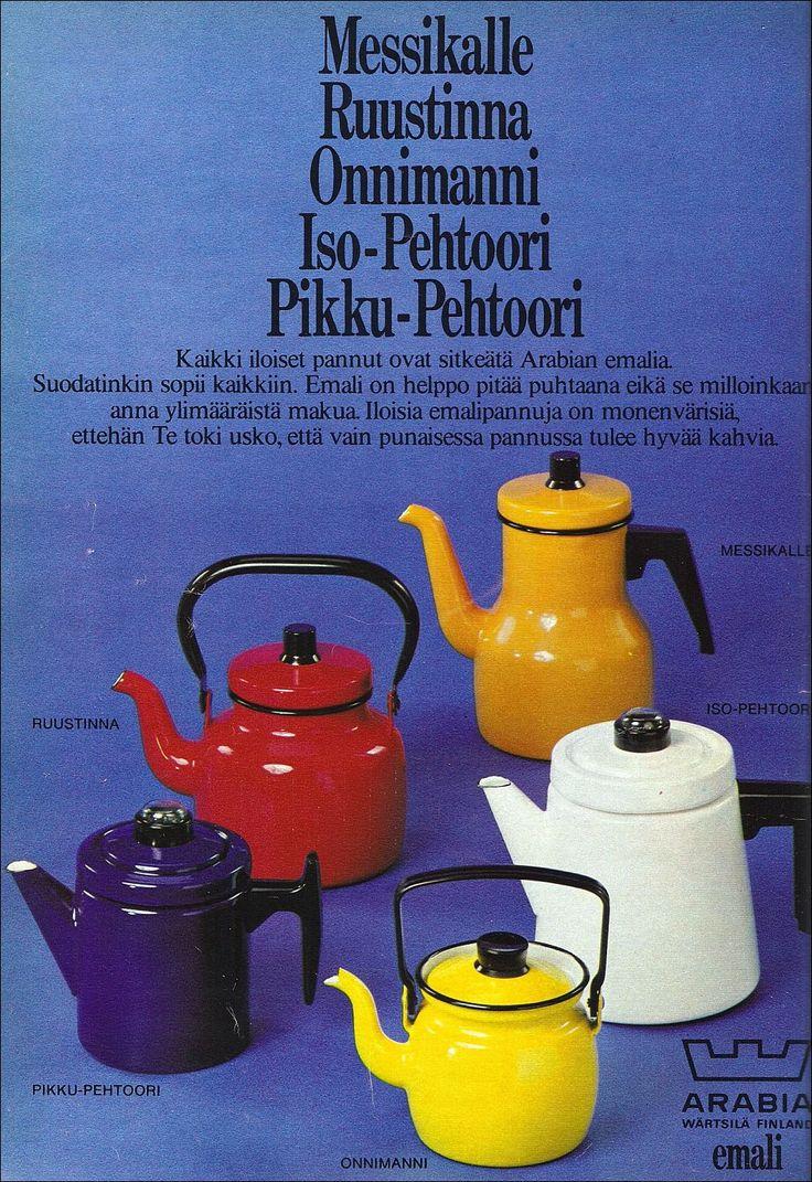 Mainos Kotiliesi-lehdessä 1972. Vanhoja tavaroita ja juttuja sekä muita kiinnostuksen kohteita. Nostalgic blog in which goods and stories from the 1970s.