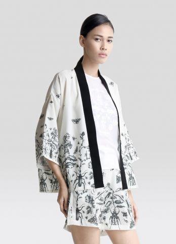 ENSEMBLE  Scarab Garden Kimono