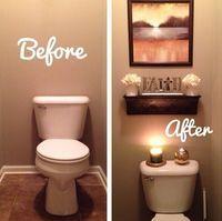 Como decorar un baño de visita