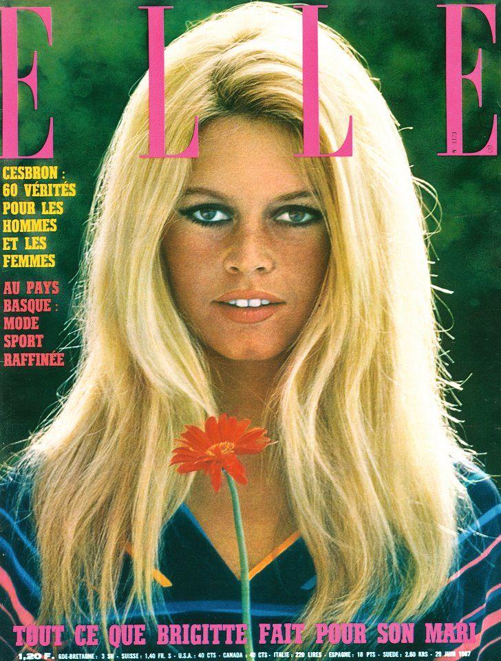 Elle - Brigitte Bardot | need…want…wear | Pinterest ...