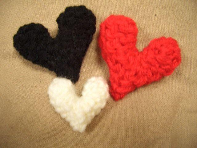 1段で♥Petit♥ハートのモチーフ ♡の作り方|編み物|編み物・手芸・ソーイング|ハンドメイド・手芸レシピならアトリエ