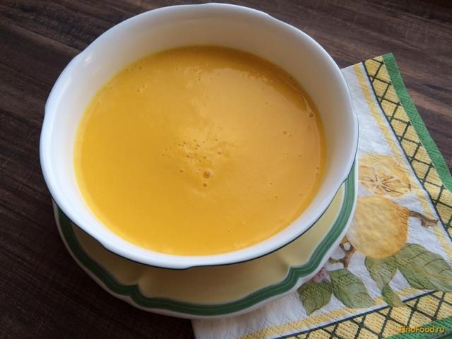 Суп пюре из тыквы с овощами
