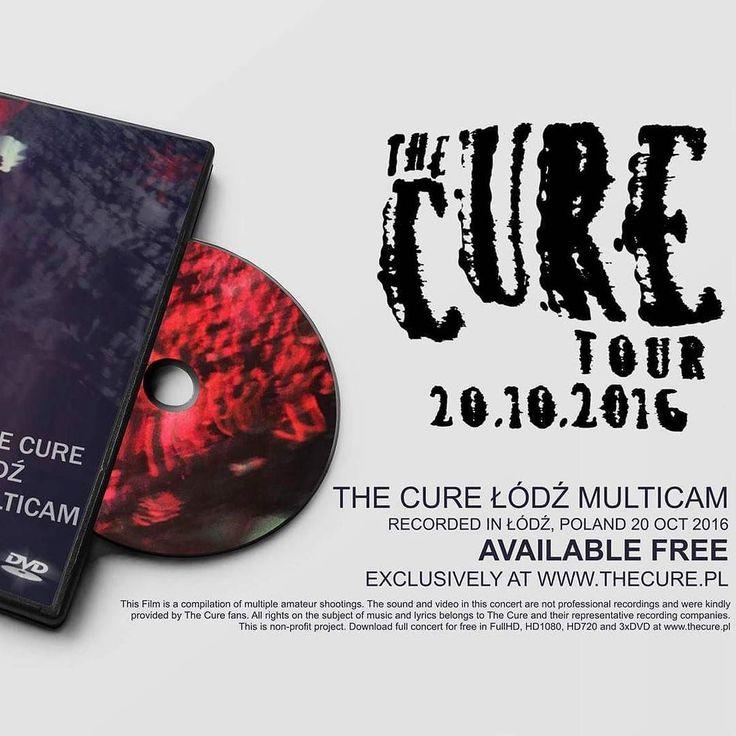 DOWNLOAD NOW! The Cure Lodz Multicam at thecure.pl #TheCure #Lodz #Multicam #free #fan #film #project #thecuretour2016 #RobertSmith #rock #pop #indie #goth #alternative #postpunk #80s #90s #music #video #instamusic #łódź #atlasarena #poland #concert #koncert #nazywo #live #download @thecure @martinmarszalek