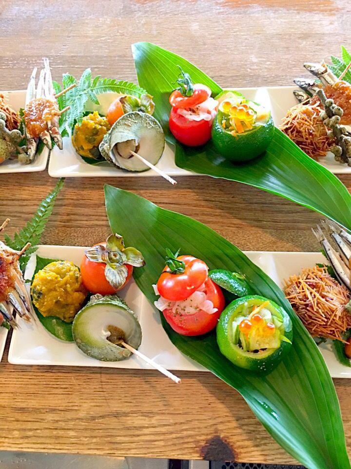 Chikako Sugimoto372's dish photo 秋の彩りワンプレート | http://snapdish.co #SnapDish #ハロウィン