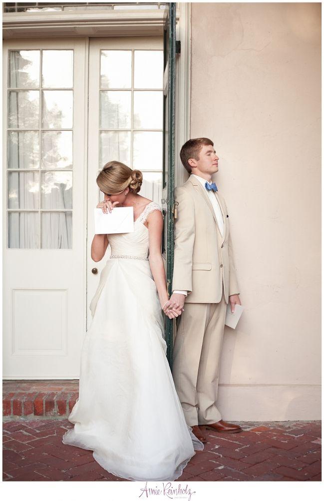 Wedding Letter Exchange Oak Alley Plantation Wedding Amie Reinholz Photography