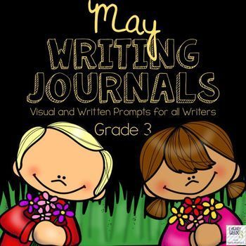 This unit has everything you need to tackle Journal writing for the entire month of May.  It is designed to make it quick and easy for you and your elementary students to complete your journal writing block with as little prep time as possible!