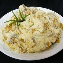 ... horseradish mayo caramelized onion and horseradish mashed potatoes
