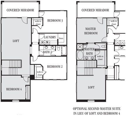 18 best lennar floorplans images on pinterest blueprints for 2 story house plans master bedroom downstairs