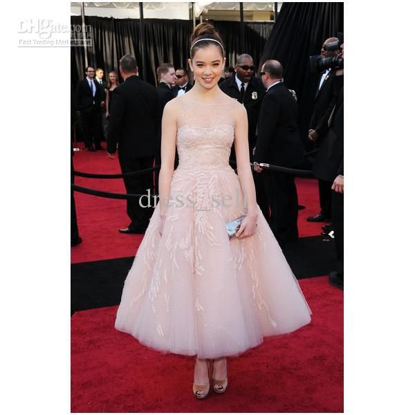 Red Carpet #Prom #Dresses 2014 Hailee Steinfeld Sweetheart Ball Gown Ankle Length Strapless Taffeta Oscar Evening Dress Tars Prom Prom Dresses Plus From Dress_sell, $213.62| Dhgate.Com