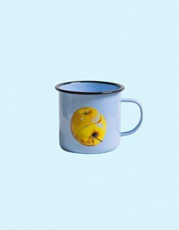 Metal Enamel Mug - APPLE