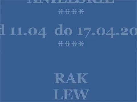HOROSKOP TYGODNIOWY 11-17.04.2016: Rak,Lew,Panna #horoskop #horoskopmarzec