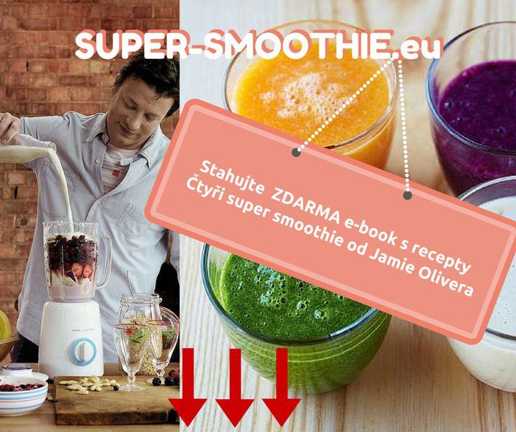 Jaké by to bylo ochutnat zdravé smoothie od Jamie Olivera? Vyzkoušejte to ZDARMA! Stáhněte si E-book - Čtyři recepty na super smoothie od Jamie Olivera a... #smoothie #supersmoothie #jídlo #jídloprozdraví #zdraví #zdravéhubnutí