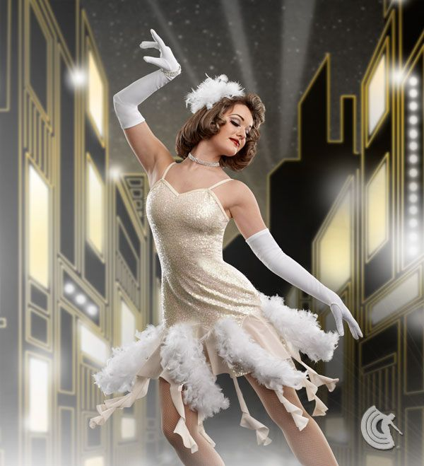 Curtain Call Costumes® - Hollywood Lights Gatsby/Roaring 20's tap and jazz dance costume