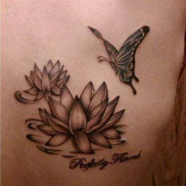 1000 images about tattoos on pinterest tree of life for Lotus flower and butterfly tattoo designs