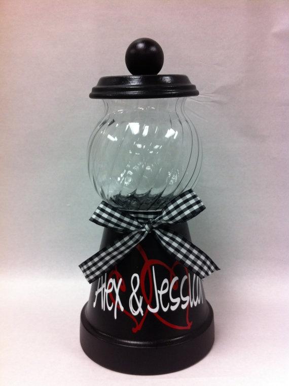 Personalized Candy Jar on Etsy $20 00 Birthdays