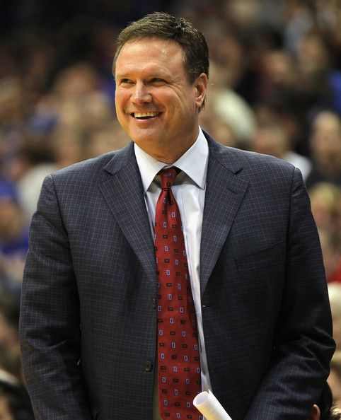Look at that grin! Bill Self for president!