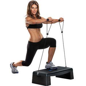 Jillian Michaels Ultimate 3-1 Aerobic Step Deck / Ab Rocker / Balance Board