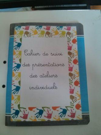 Mon cahier de suivi individuel