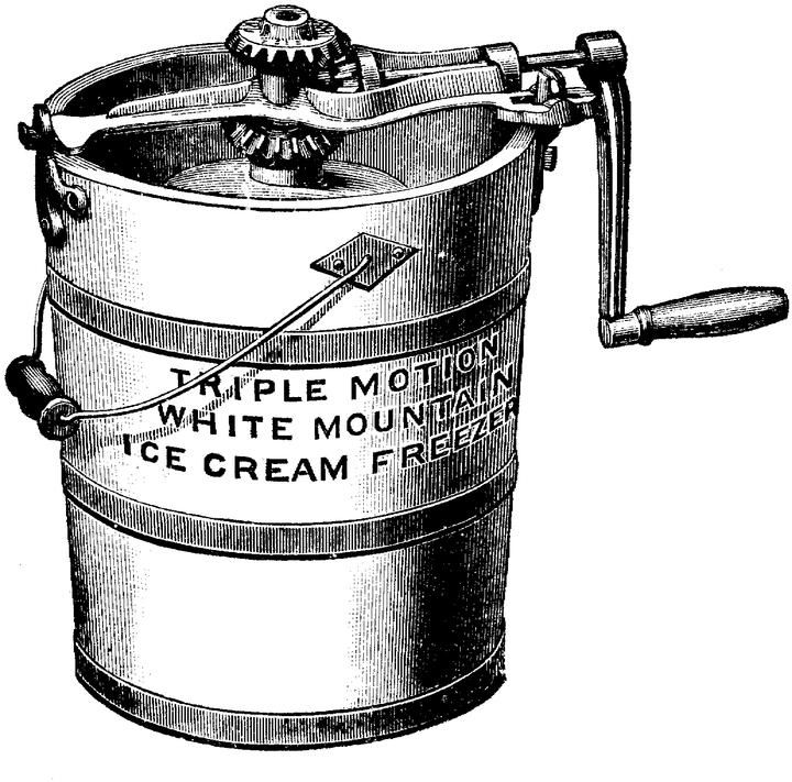 Recipes for home made Victorian ice cream includes coconut, chocolate, pineapple, vanilla, peach, and several lemon flavor recipes.