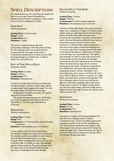 Dnd 5e homebrew image by Aubrey Orrison on Classes   Dnd spell cards, D&d dungeons and dragons
