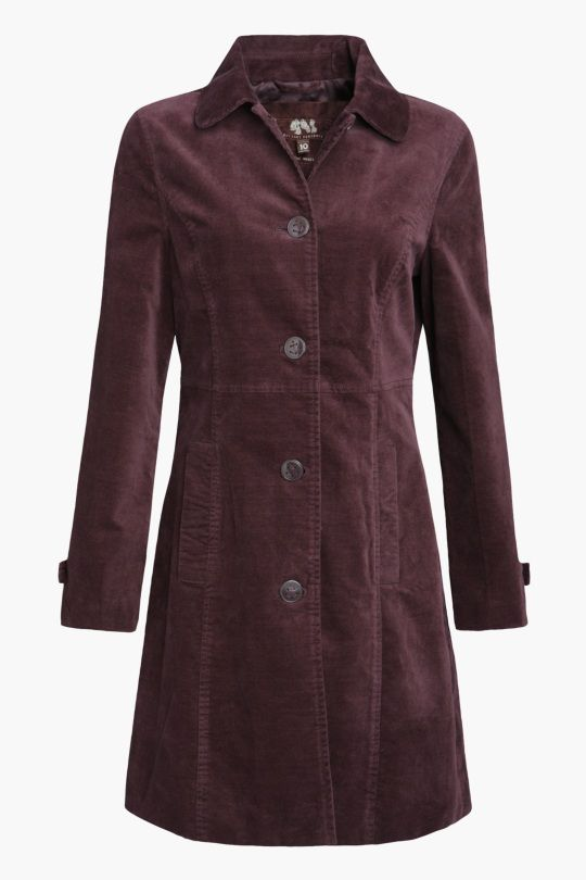 Seasalt Woodview velvet coat